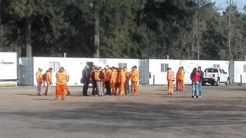 El Gobierno suspendió la obra de la Ruta 3 y echó a 50 obreros | Despidos