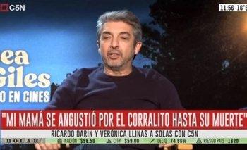 Ricardo Darín contó que hasta el último día le mintió a su madre sobre el Corralito | Crisis 2001