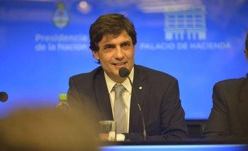 En sus primeras declaraciones como ministro, Hernán Lacunza citó a Alberto Fernández   Crisis económica