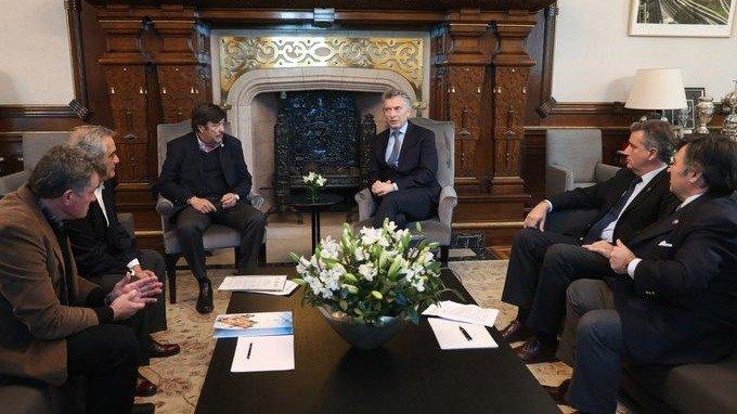 Macri prometió al campo no aumentar las retenciones