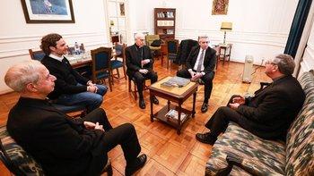 Alberto Fernández se reunió con la Conferencia Episcopal Argentina | Elecciones 2019