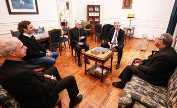 Alberto Fernández se reunió con la Conferencia Episcopal Argentina   Elecciones 2019
