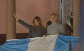 El desesperado  gesto de Macri en el balcón de la Casa Rosada | Elecciones 2019