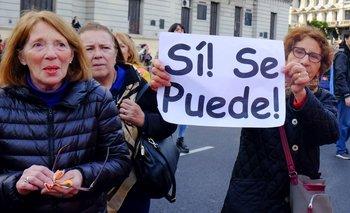Cambian la marcha en apoyo a Macri para no coincidir con los datos de pobreza | Elecciones 2019