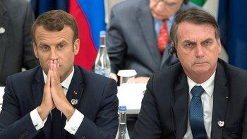 Macrón le contestó a Bolsonaro por las burlas a su mujer | Picante