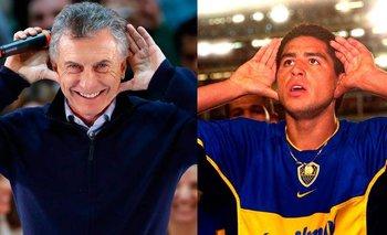 Hinchas de Boca le dedicaron a Macri el triunfo de Riquelme | Elecciones en boca