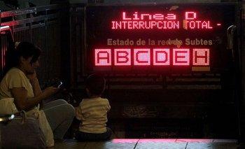 ¿Qué líneas del subte no funcionarán esta noche? | Ciudad