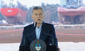 Macri intentaba calmar a los mercados y una sirena comenzó a sonar | Crisis económica