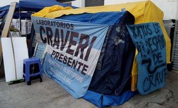 Craveri S.A: Cinco meses de acampe y ninguna respuesta | Despidos