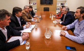 Alberto Fernández se reunió con la Mesa de Enlace | Crisis económica