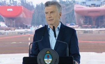 La puesta en escena trucha del discurso de Macri en plena crisis | Puesta en escena