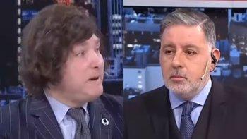 """Milei defendió a Alberto Fernández en Intratables: """"Tiene razón""""   Javier milei"""