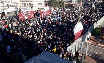 Marcha de apoyo a Néstor Grindetti en Lanús   Néstor grindetti