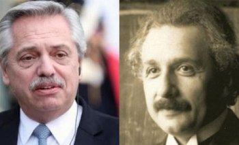 La frase de Einstein que usó Alberto por la cuarentena   Coronavirus en argentina