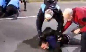 Larreta finalmente reprimió pero a la marcha por Maldonado | Horacio rodríguez larreta