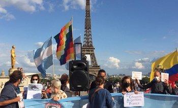 Repudian la presencia de Macri en París | Francia