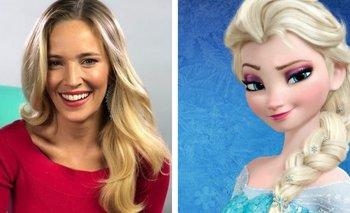 Luisana Lopilato vistió un look inspirado en Elsa de Frozen | En redes