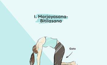 Yoga: 5 posturas para aliviar el dolor de espalda y cuello | Cuarentena en casa
