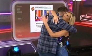 Polémico: Canosa violó la distancia social con los panelistas | Coronavirus en argentina