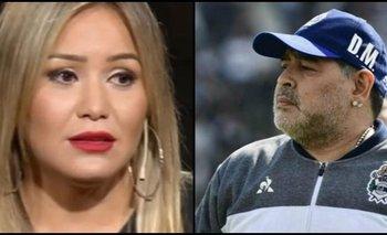 Karina habló sobre los rumores de su romance con Maradona   Televisión