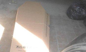 Su hijo murió y pidieron ayuda: les mandaron un ataúd de cartón   Policiales