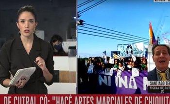 Violento ataque de un fiscal a una periodista de C5N | Medios