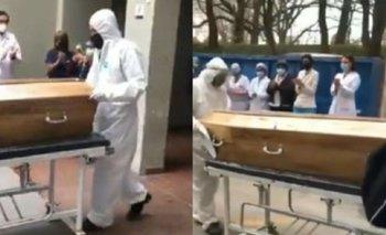 Desgarrador: así despiden a una enfermera que murió de Covid | Coronavirus en argentina