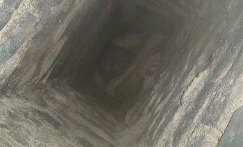 San Juan: entró a robar una casa y quedó atrapado en la chimenea | Policiales