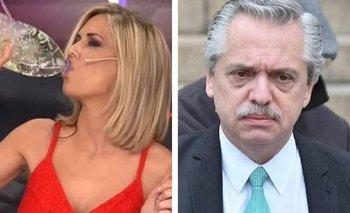 Viviana Canosa desafió a Alberto con un violento mensaje | Coronavirus en argentina