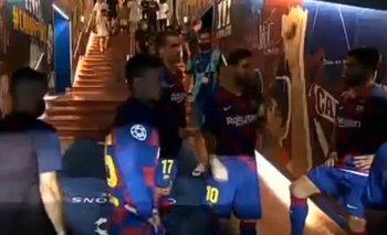 El mensaje de motivación de Messi a sus compañeros del Barcelona    Champions league