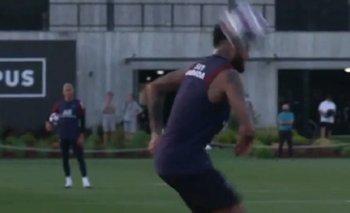 VIDEO: La última genialidad de Neymar en un entrenamiento del PSG   Fútbol