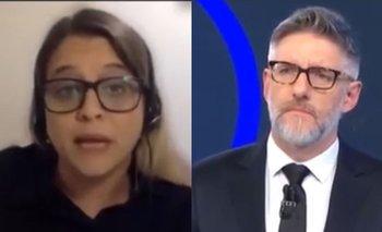 Florencia Cahn dejó mal parado a Novaresio en vivo | Televisión