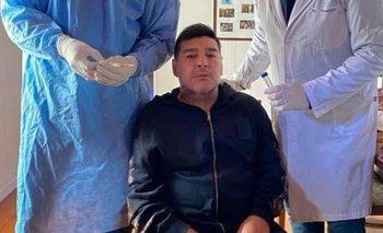 Hisoparon a Diego Maradona | Fútbol