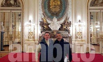 Las fotos de los espías de Macri en Casa Rosada | Espionaje ilegal