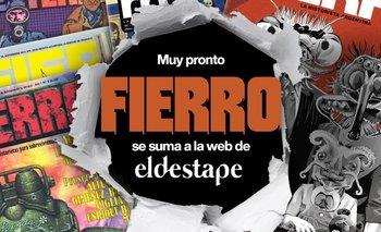 La revista Fierro y El Destape, juntos | ¡gran anuncio!