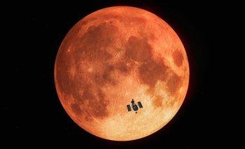 Inédita observación de un eclipse lunar total con telescopio | Espacio exterior
