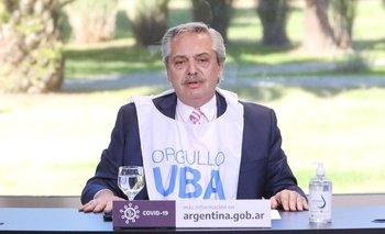 Alberto homenajeó a la UBA y se acordó de Macri | Alberto presidente