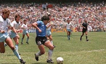 El recuerdo del gol de Diego Maradona a los ingleses   México 86