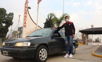 El arquero que manejó 16 horas para sumarse al plantel de Huracán | Fútbol