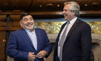 Diego Maradona defendió el impuesto a la riqueza  | Crisis económica
