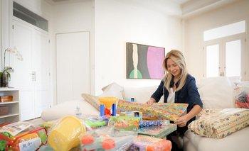 Fabiola Yáñez entregó juguetes en el Día de las Infancias  | Día del niño