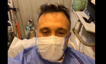 Sergio Lapegüe mostró su test, tras el positivo de Roxy Vázquez | Coronavirus en argentina