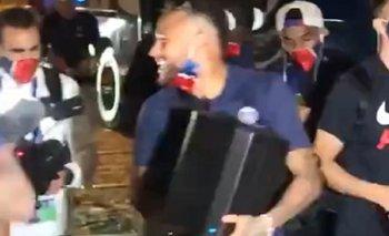 PSG festejó el pase a la final de la Champions a pura cumbia argentina | Fútbol