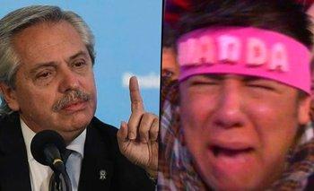 Alberto Fernández, jurado del Bailando: el video que es furor en redes | Redes sociales