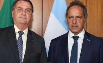 Scioli, con los tapones de punta: repudió una decisión de Bolsonaro | Daniel scioli