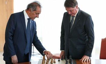 Más exportaciones para equilibrar la balanza: el objetivo de Scioli en Brasil | Comercio exterior