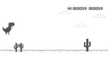 El famoso juego del dinosaurio de Google tiene un final | Internet