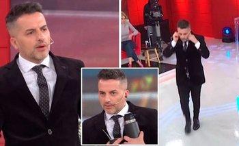 Escándalo en LAM: De Brito se cansó y abandonó el programa en vivo | Televisión