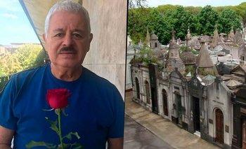 Tití Fernández logró que abran los cementerios para ver a su hija | Coronavirus en argentina