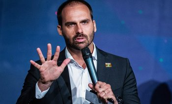 Papelón del hijo de Bolsonaro: criticó a Alberto y expuso a su padre | Alberto fernández